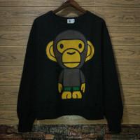 Crewneck baby Milo original second sweater jaket bape ori import