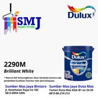 Cat Tembok Eksterior DULUX WEATHERSHIELD warna Brilliant White 20LTR
