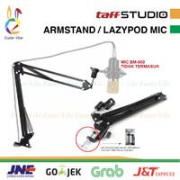 TaffSTUDIO ARMSTAND ARM STAND MIC SUSPENSI LAZYPOD MICROPHONE