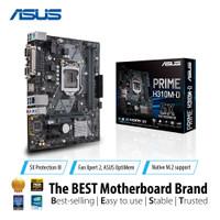 ASUS Prime H310M-D R2.0 Intel H310 LGA 1151 Micro ATX Motherboard