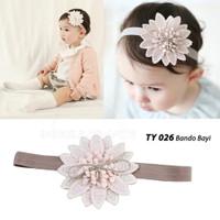 Bando Anak Bando Bayi Bandana Bayi Baby Headband Pita Kepala TY-026