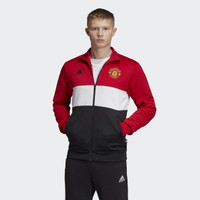 Adidas Manchester United 3-Stripes Track Jacket Originals
