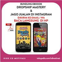 Bundling Buku Rico Huang Dropship Mastery & Jago Jualan di Instagram