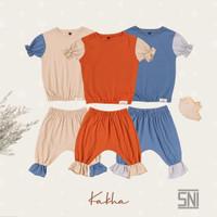Kakha Series – Set Main Ruffle (Set main bayi / set main anak)