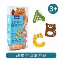 Mideer Letter Magnet mainan magnet alphabet huruf tempel anak