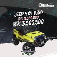 The 4wd King Jeep 4x4 with EVA whell Autowheelers - AWS 2388 EVA