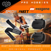 Magene Heart Rate H64 And S3+ Sensor Candence / Speed ORIGINAL