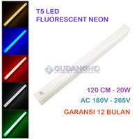 Lampu TL Neon T5 LED 120cm 20W 1.2M Tube Fluorescent AC 180V-265V