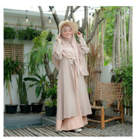 Gamis Terbaru MUFIDA DRESS size S M L XL fashion muslim terbaru matt M