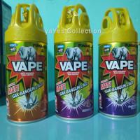 Vape Aerosol 240 ml Semprot anti obat nyamuk Orange sakura purple