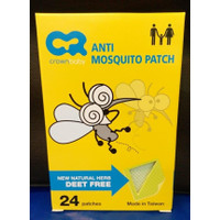 Obat Anti Nyamuk Bayi Alami CROWN Anti Mosquito Patch 24 patches
