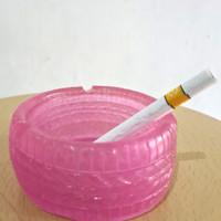 Asbak Model Ban Resin Pink