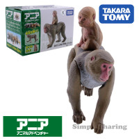 Ania Takara Tomy AS-17 Japanese Monkey Mainan Figure Hewan Original