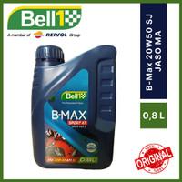 Bell1 Oli Motor B-Max Sport 4T SAE 20W50 API SJ JASO MA 0,8 Liter