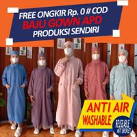 Baju APD SURGICAL GOWN anti CORONA Murah BAJU PELINDUNG DIRI REUSEABLE
