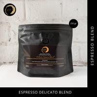 JSC Delicato Espresso Blend 100% Arabika 250 gr Biji Kopi