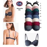 Bra C&A/Tori (cut label) balconette available 9 colors