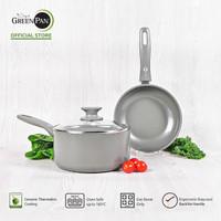 GreenPan - Delight Grey Set A 2 pcs