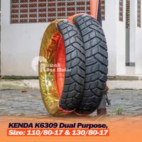 KENDA K6039 110/80-17 130/80-17 Ban Dual Purpose CB150R Vixion