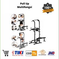Alat Fitnes Gym Pull Up Multifungsi Bangku Adjustable pull up station