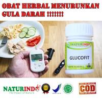 GLUCOFIT Obat herbal atasi gula kering/gula basah/kencing manis!!!!