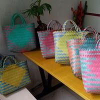 tas anyaman plastik tanggung ready stock Jakarta