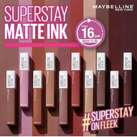 MAYBELLINE SuperStay Matte Ink Liquid Matte Lipstick