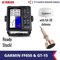 Garmin FF 650 GPS Fishfinder with GT15M-TH Transducer