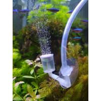 Dop Selang Aquarium - Tempelan Kaca Akuarium Aerator CO2 Aquascape
