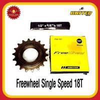 UNITED FW-181 Freewheel Single Speed 18T