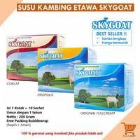 Susu Kambing Etawa Bubuk Original SKYGOAT 1 Box isi 10 Sachet