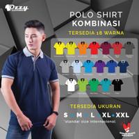 Kaos Polo Polos Kombinasi | Polo Shirt Kombinasi