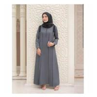 Gamis Terbaru AZKA DRESS size S M L XL fashion muslim elegan gamis cla