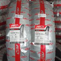 PAKET BAN MOTOR PCX FDR TUBLESS 100/80-14 & 120/70-14 SPORT XR EVO