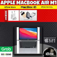 Apple MacBook AiR M1 2020 512 512GB Space Gray Gold Silver Resmi iBox - RESMI INTER, M1 256GB GREY