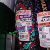Ban tubeless Corsa S-22 80/90-14 for beat/vario/scoopy/mio m3/mio J