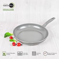 GreenPan - Delight Grey Open Frypan 24 cm