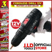 cordless drill 12v - Mesin bor cordless - Cordless 12S JLD Tools