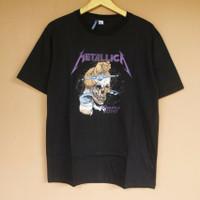 T-shirt Metallica Damage Justice Black H&M