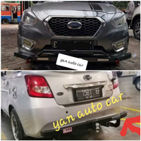Paket Tanduk Depan Mini With DRL Dan Towing Belakang ARB Datsun Go