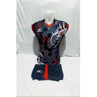Kaos futsall MIzuno dewasa, setelan baju bolla volly ,badminton murah