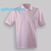 Polo Shirt Polos Warna Pink Baby Pria & Wanita