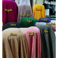 Kain Plisket Moscrepe Premium / Bahan Kain Krudung/Gamis/Dress