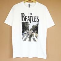T-shirt The Beatles Big Font White H&M