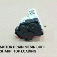 MOTOR DRAIN MESIN CUCI SHARP TOP LOADING