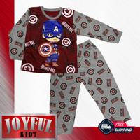 Setelan Panjang Baju / Kaos Anak Laki-laki 056 1 - 10 Tahun