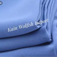 Kain Wolfis/Woolpeach Premium _ Bahan kain Wollpeach Premium