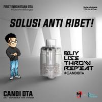 Candi DTA Dispossable Tank Atomizer by Rhomedal x R-Vape x My Juice