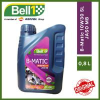 Bell1 Oli Motor B-Matic 4T SAE 10W30 API SL JASO MB 0,8 Liter