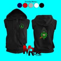 Jaket Rompi Hoodie Dewasa Pria Wanita Logo Monster LGN - Oneclothing